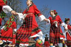 "Лазаровден (Lazarus Saturday in the Eastern Orthodox Church is the day before Palm Sunday to which it is liturgically linked. It celebrates the raising of Lazarus of Bethany).Българите наричат празника ""Лазар"", ""Лазарица"" или ""Лазарова събота"". Лазаровден е с подвижна дата и всяка година се пада в събота една седмица преди Великден. Folk Costume, Costumes, Republic Of Macedonia, Presents For Girls, Palm Sunday, Rite Of Passage, Beautiful Forest, News Agency, Bulgarian"
