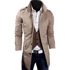 Men's High Neck Slim Fit Casual Formal Trench Coat Wind Breaker Outerwear Jacket Medium,Beige Fancy Dress Store,http://www.amazon.com/dp/B00J02CI72/ref=cm_sw_r_pi_dp_eDQktb04B1M1JBGZ