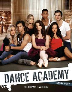 Dance Academy - this looks like a re-creation of the title photo on the movie center stage...