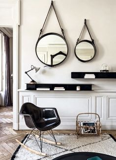 La folie des miroirs ronds - FrenchyFancy
