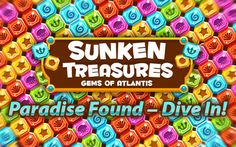 free game gems sunken treasures gems