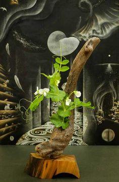 流木の花器 2005-13