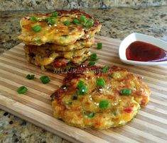 My Kitchen Snippets: Savory Plantain Pancakes/Fritters