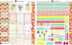 ESPECIAL VERANO: TuttiFruits – Stickers Imprimibles