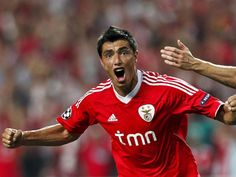 Cardozo, Benfica - Manchester United, 2011/12