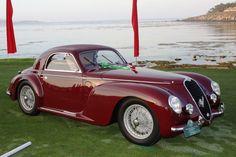 1938 Alfa Romeo 6C Touring coupe  at Pebble Beach.