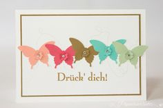 {Papierverliebt} Schmetterlinge, In Color 2013-2015, Stampin' Up!, Butterfly Punch