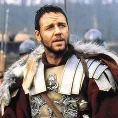 """My name is Maximus Decimus Meridius, commander of the Armies of the North, General of the Felix Legions, loyal servant to the true emperor, Marcus Aurelius. Father to a murdered son, husband to a murdered wife. And I will have my vengeance, in this life or the next""...and BA of all the GLADIATORS!! YEAH!!"