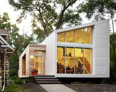 KEM Studio have designed the Madison Residence, a #home in Kansas City, Missouri. #architecture