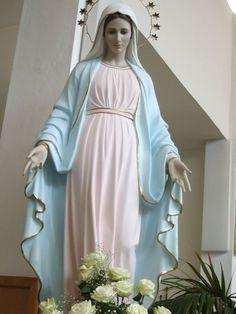 Virgen María foto original de la red