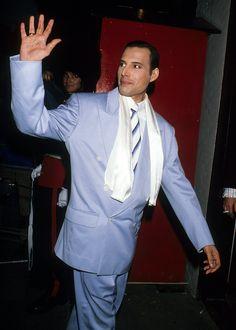 freddie mercury last public appearance feb 1990