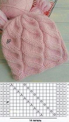 Lace Knitting Patterns, Knitting Charts, Knitting Stitches, Free Knitting, Baby Knitting, Knitting Wool, Afghan Patterns, Amigurumi Patterns, Knitting Machine