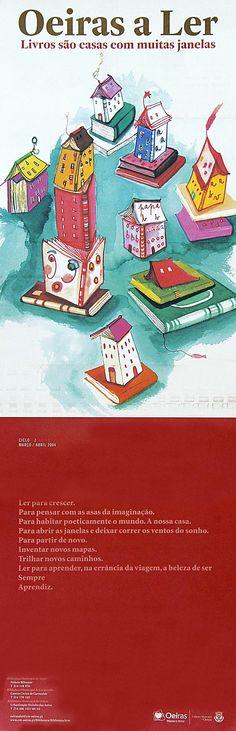 Oeiras a ler. Livros sao casas com muitas janelas (2004)