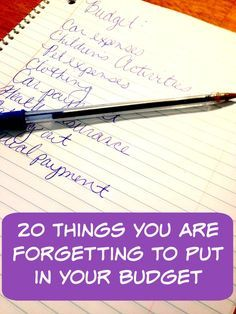 Here are 20 things t