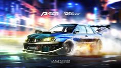 Speedhunters Subaru Impreza STI _ Need for speed Tribute _ Drift missile, Yasid Oozeear on ArtStation at https://www.artstation.com/artwork/speedhunters-subaru-impreza-sti-_-need-for-speed-tribute-_-drift-missile