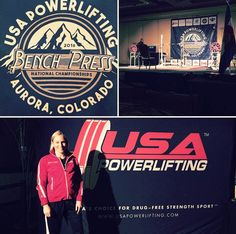 SSP Female Supplements..Congratulations to Kimberly Muniz, who took 1st place in the 57k open at the 2016 USAPL Bench Nationals in CO! Her winning bench was 80k! She also placed 1st last year at the Nationals and went on to place 1st while representing the USA at the NAPF bench championships! Kimberly will now begin training for the World Championships being held in TX in April.