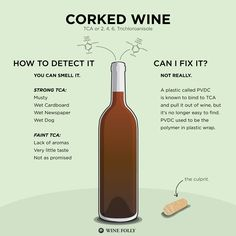 How to Tell if Wine is Corked #wine #winetasting #wineeducation