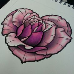 Pictures of rose heart tattoos – Tattoo 2020 Girly Tattoos, Pretty Tattoos, Beautiful Tattoos, Body Art Tattoos, Tatoos, Tattoo Sketches, Tattoo Drawings, Rose Heart Tattoo, Heart Rose Drawing