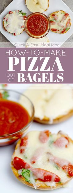 Quick & Easy Meal Idea: How to Make Pizza Out of Bagels (Recipe)