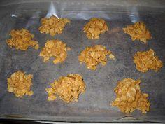 Leaf Piles  1. Sugar 2. Karo Syrup 3. Soy Butter 3. Cornflakes