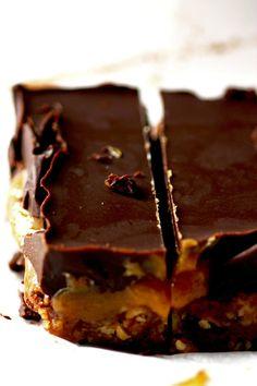 Barres chocolat-caramel au cacao et beurre de cacao cru Sol Semilla! Miamm!