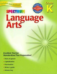 Spectrum Language Arts: Grade K