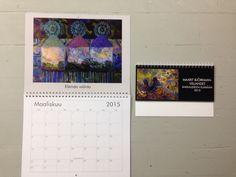 Vuoden 2015 kalenteri! My Arts, Polaroid Film, Artist, Amen, Artists