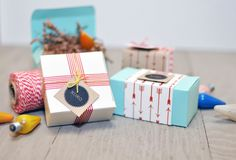Gift wrapping - boxes