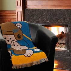 "UCLA Bruins 36"" x 46"" Fullback Baby Throw Blanket"