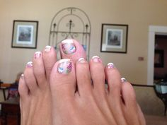 Summer toes! Stickers