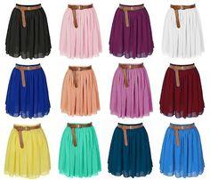 JSYK: Colorful Skirts Under Twelve Dollars! | http://prettylifeanonymous.blogspot.com/