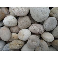 0.50 cu. ft. 1 in. - 2 in. Unpolished Brown Mexican Beach Pebble