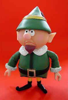 """memory lane """"rudolph the red-nosed reindeer"""" figure: boss elf by j_pidgeon, via Flickr"""