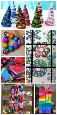 Image result for rainbow holiday craft for kids