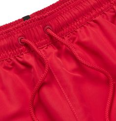 Calvin Klein Underwear Mid-length Swim Shorts In Red Calvin Klein Men Underwear, Swim Shorts, Mid Length, Casual Shorts, Mens Fashion, Sexy, Clothes, Shopping, Collection