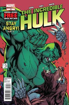Incredible Hulk Vol. 5 # 10 by Shane Davis & Mark Morales