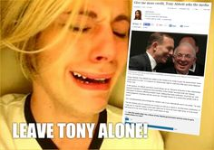 Tony don't get no credit  http://www.theage.com.au/federal-politics/political-news/give-me-more-credit-tony-abbott-pleads-with-the-media-20140911-10f8pm.html