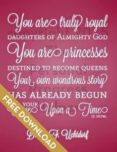 Your Happily Ever After Handout | Free Download available in 5 colors!