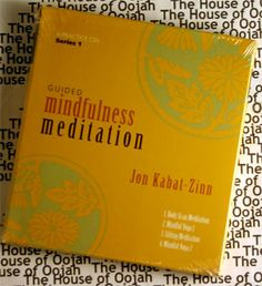 Guided Mindfulness Meditation  Jon Kabat-Zinn Audio Book CD
