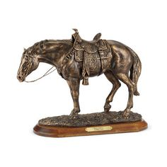 """horse sculpture""""instyledecor ❤ liked on polyvore featuring"""