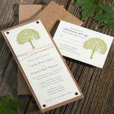 Spring Wedding Invitations . Wedding by ArielShulerDesign on Etsy