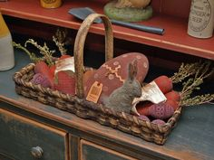 wonderful primitive stuff at this link... furniture, textiles accessories