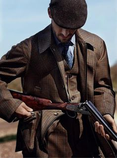 Classic style of Gentlemanly shooting.