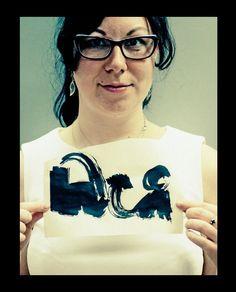 Уроки каллиграфии в Ромашин Design School