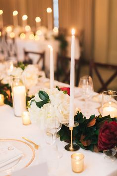 It doesn't get much better than a Christmastime wedding. Take all the magic of the holiday season and pair it with two people vowing forever, and you've got the ultimate celebration. Anchored in a palette of ivory, gold and pops