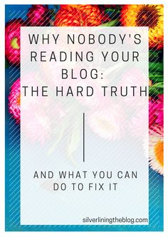 No one reading your blog? See what you can do to fix that!