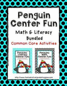 Penguin Math and Literacy Fun bundled