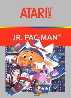 """Juego para la consola Atari 2600 """"  JR.  PAC-MAN """" ( CX  26123 )"""