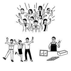 人いっぱい . 桝徳webサイト . . #イラストレーター #イラストレーション #シンプル #アイコン #インフォグラフィック #ピクトグラム #線画 #図解 #webサイト#職業#新卒#採用 #Adobeillustrator #works #Illustration #digital #graphic #design #lines #icon People Illustration, Flat Illustration, Icon Design, Logo Design, Person Drawing, New Poster, Noritake, Graphic Design Posters, Sticker Design