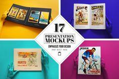 17 Presentation Mockups by Liviu on Creative Market